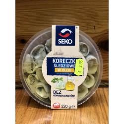 Seko Rollitos Arenques en aceite 120g.