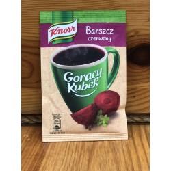 Sopa de remolacha G:K: Knorr