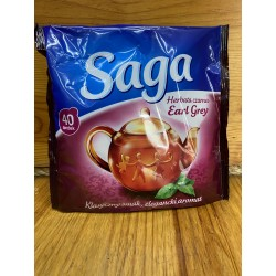 Herbata czarna Earl grey 40 t. Saga